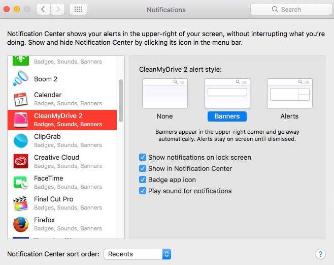System Preferences-Notifications