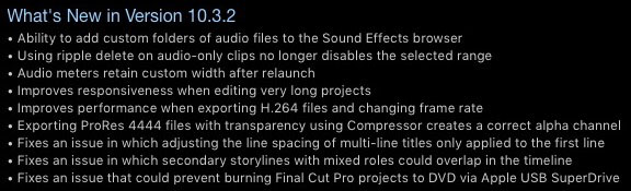FCPX-10.3.2