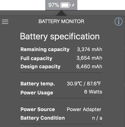 Review aplikasi Battery Monitor