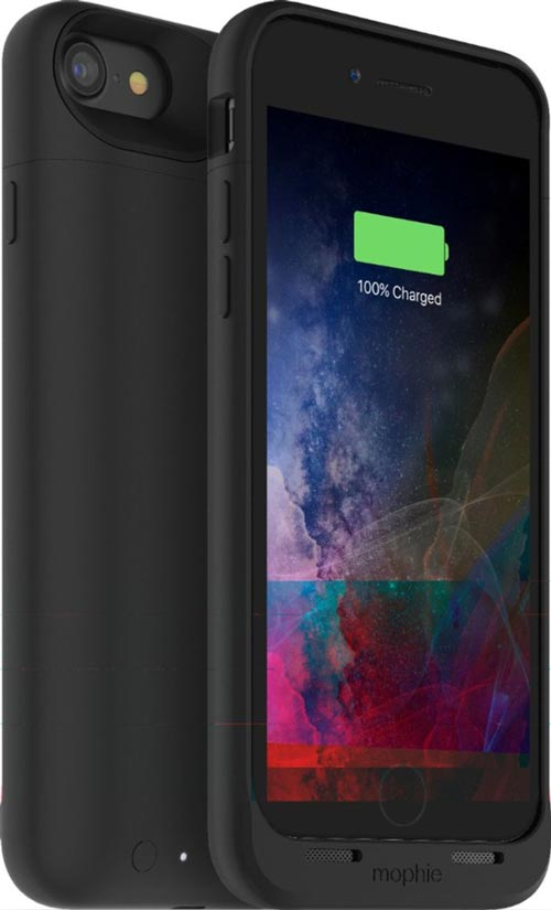 mophie - Juice Pack External Battery Case with Wireless Charging